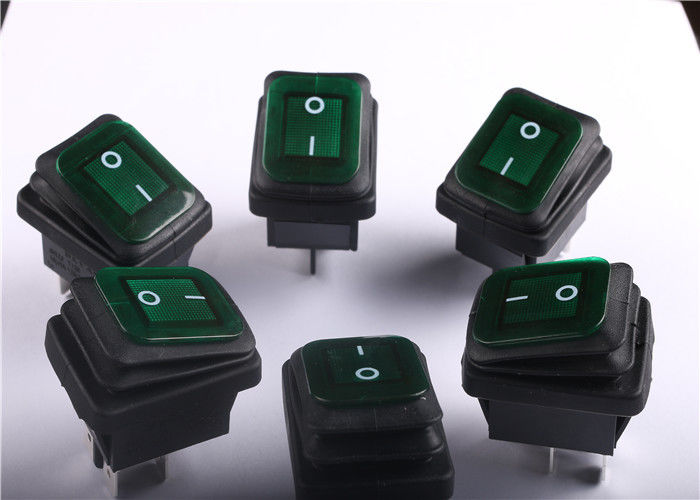 Safety 2 Pin Waterproof Rocker Switch With Variety Of Design And Terminals